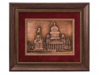 интерьерный подарок Рельефное панно «Исаакиевский собор» в магазине дарград