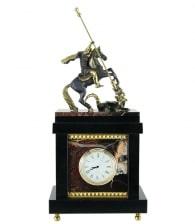 Кабинетные часы «Георгий Победоносец» в магазине подарков Дарград