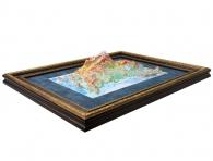 Заказать интерьерный подарок Объемная карта России