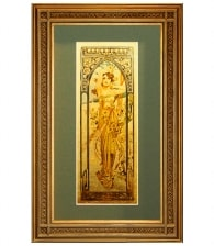 Картина на золоте «День» А. Муха