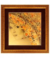 Картина на золоте «Стихия» (Огонь)