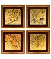 Картина на золоте «Знаки зодиака» (комплект)