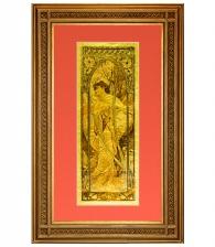 Картина на золоте «Вечер» А. Муха