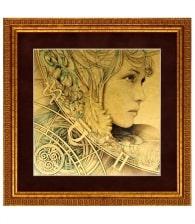 Картина на золоте «Стихия» (Воздух)