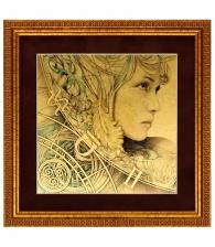 """Картина на золоте """"Четыре стихии"""" (комплект) Воздух"""