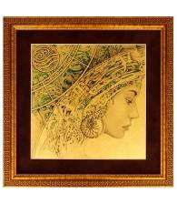 Картина на золоте «Стихия» (Вода)