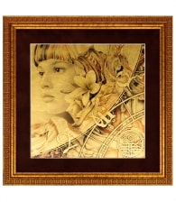 Картина на золоте «Стихия» (Земля)