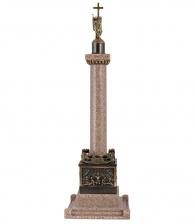 Александрийский столп (большой) из гранита с бронзой