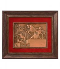 Рельефное панно «Кони Клодта»