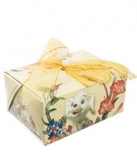 "Фигурка ""Сидячий щенок"" вар. 2 (фарфор) в подарочной коробке"