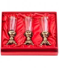 Набор лафитников в магазине подарков дарград