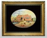 Заказать эксклюзивный подарок Лаковая миниатюра «Вид на Аничков Мост»