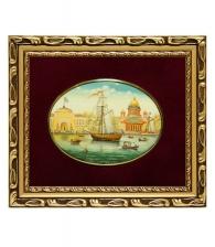Лаковая миниатюра «Адмиралтейство»