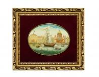 Заказать Лаковая миниатюра «Адмиралтейство» в магазине подарков Дарград
