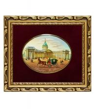 Лаковая миниатюра «Казанский собор»