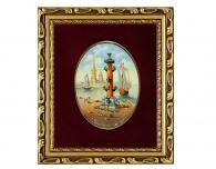 Заказать в поларок Лаковая миниатюра «Ростральная колонна»