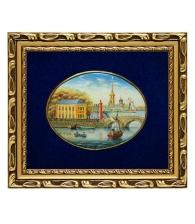 Лаковая миниатюра «Летний дворец Петра»