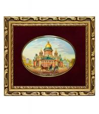 Лаковая миниатюра «Исаакиевский собор»