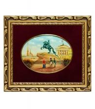 Лаковая миниатюра «Медный всадник»