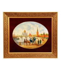 Лаковое панно «Москва» ПРЕМИУМ