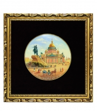 Лаковое панно «Сенатская площадь» (среднее)