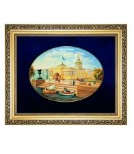 Лаковая миниатюра панно «Адмиралтейство»