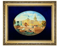 Заказать подарок руководителю Лаковая миниатюра панно «Адмиралтейство»