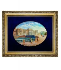Лаковая миниатюра панно «Мариинский дворец»
