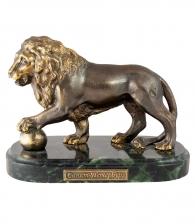 Настольная композиция «Лев с шаром»