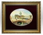 Заказать Лаковая миниатюра панно «Казанский собор» в подарок священнику