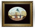 Лаковая миниатюра «Сенатская площадь»