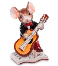 Керамическая фигурка «Мышонок-музыкант»
