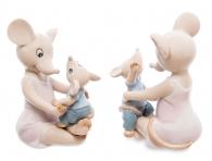 фигурка Pavone мышонок с мамой