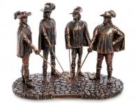 подарок другу Композиция «Три мушкетера»