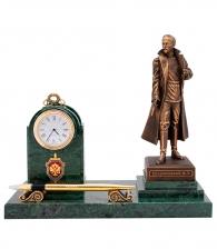 Настольный прибор с часами «Дзержинский»