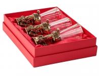 Набор из 3-х лафитников «Доктор» в подарочной коробке