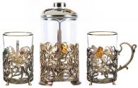 Подарок на годовщину свадьбы Набор для чаепития «Колокольчик»