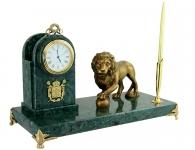Купить Настольный набор «Лев с шаром» в подарок мужчине в СПб и Москве