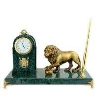 Настольный набор «Лев с шаром»