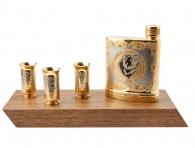 Купить изделия златоуста Набор с флягой «Медведь» (Златоуст)