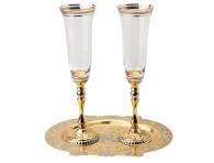 """Набор для шампанского """"Дуэт"""" (Златоуст) в интернет магазине подарков"""