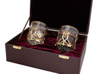 Набор бокалов для виски «Герб России»