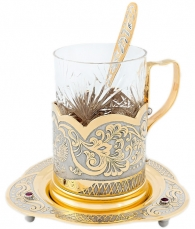 Чайный набор «Герб России»
