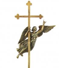 Настольная композиция «Ангел Петербурга» из бронзы в магазине Дарград
