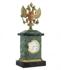 Настольные часы «Герб России»