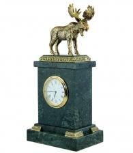 Настольные часы «Лось» в магазине подарков Дарград Садовая 26