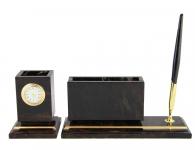 Письменный набор из камня для директора