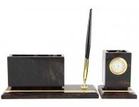 Каменный набор коричнегого цвета в подарок