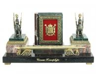 Эксклюзивный подарок Настольный прибор «Летопись Петербурга» Грифоны