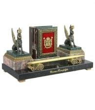 Настольный прибор «Летопись Петербурга» Грифоны